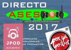 Directo ASESPOD para las JPOD17