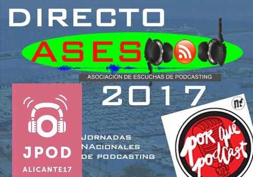 Directos ASESPOD en las Alipod17