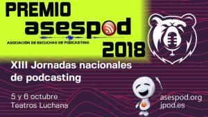 Premio ASESPOD 2018