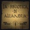 acceso a la web de La biblioteca de Alejandría