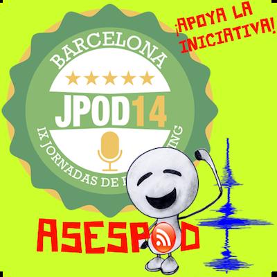 ASESPOD apoya a las Jpod14Bar