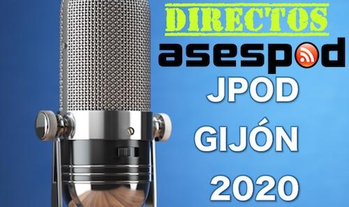 Directos ASESPOD para las JPOD 2020